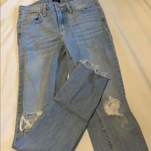 24 JUST BLACK ANKLE JEANS - MW
